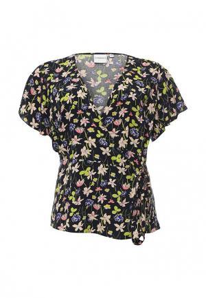 Блуза Junarose. Цвет: разноцветный