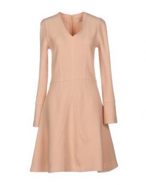 Короткое платье ISSA. Цвет: светло-розовый