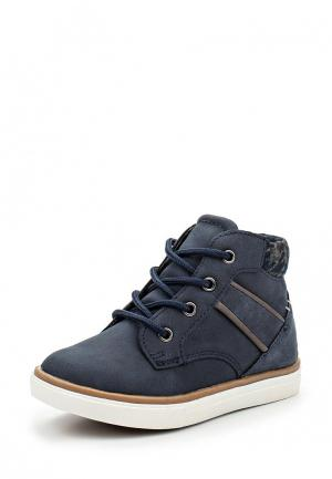 Ботинки Bata. Цвет: синий