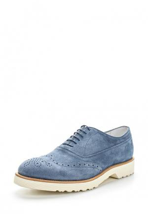 Ботинки Guardiani Sport. Цвет: голубой