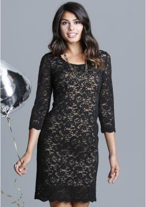 Платье MY STYLE. Цвет: черный