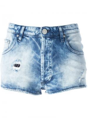 Джинсовые шорты Eleonore Dont Cry Don't. Цвет: синий