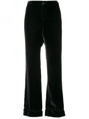 Расклешенные брюки F.R.S For Restless Sleepers. Цвет: синий