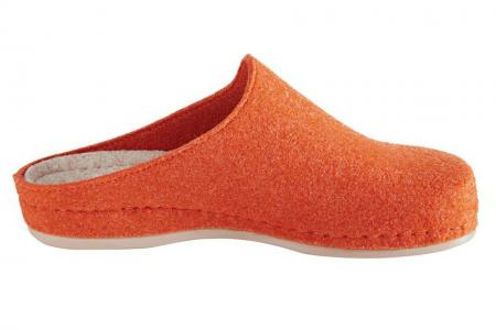 Домашние шлепанцы Otto. Цвет: оранжевый