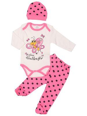 Комплект M-BABY. Цвет: розовый