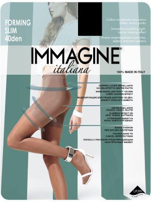 Колготки моделирующие Immagine. Цвет: черный