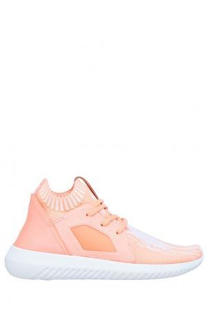 Кроссовки Tubular Defiant Primeknit Adidas. Цвет: оранжевый