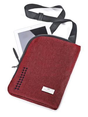 Сумка для планшета Grip, в целофане, 1 шт., красный Faber-Castell. Цвет: красный