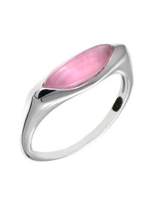 Кольцо BALEX. Цвет: розовый, серебристый