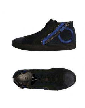 Высокие кеды и кроссовки PLAYHAT. Цвет: темно-синий
