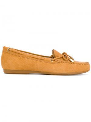 Textured loafers Michael Kors. Цвет: коричневый