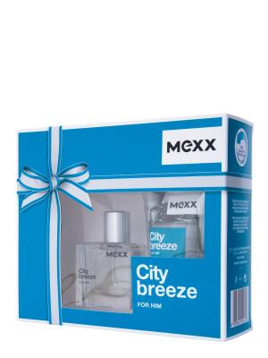 City Breeze Man Набор Туалетная вода 30 мл+гель для душа 50 мл MEXX. Цвет: прозрачный