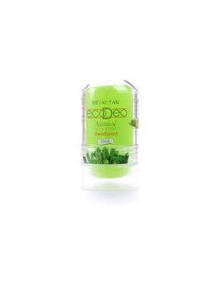 Дезодорант-крислалл  EcoDeo стик с Aloe, 60 гр. TAI YAN. Цвет: зеленый