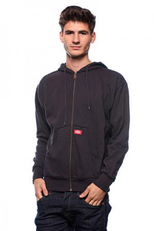 Толстовка  rmal Lined Hooded Fleece Jacket Dark Navy Dickies. Цвет: синий