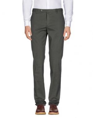 Повседневные брюки G.T.A. MANIFATTURA PANTALONI. Цвет: зеленый-милитари