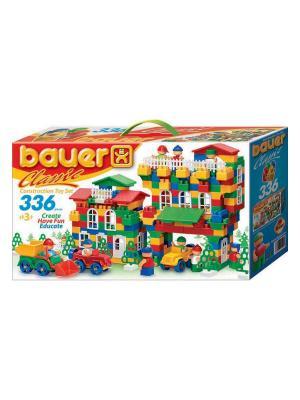 Конструктор Bauer серии Сlassic 336 эл. (в коробке) 12/12. Цвет: голубой