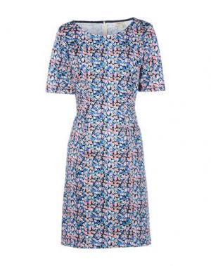 Короткое платье PEOPLE TREE. Цвет: синий