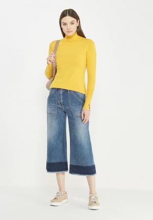 Водолазка Liu Jo Jeans. Цвет: желтый