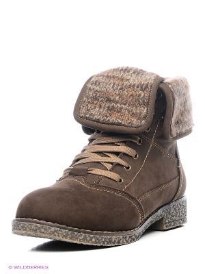 Ботинки Nexpero. Цвет: темно-коричневый, антрацитовый, серый