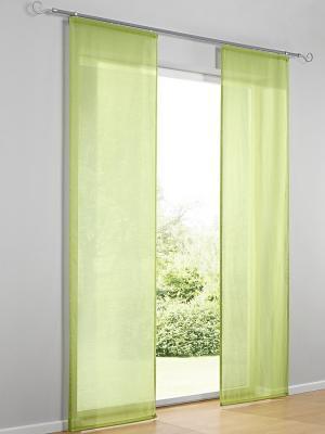 Штора Otto. Цвет: зеленый