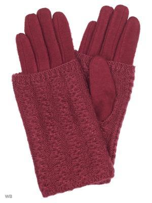 Перчатки Palantini. Цвет: сливовый