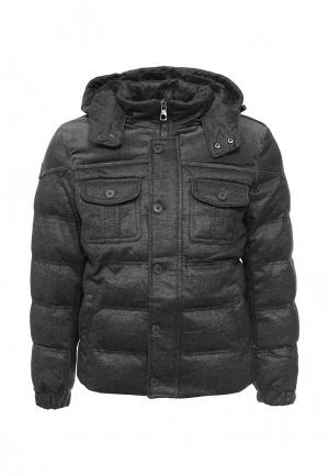 Куртка утепленная Mastice. Цвет: серый