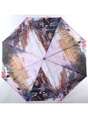 Зонт Magic Rain. Цвет: фиолетовый, коричневый, синий