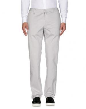 Повседневные брюки REPORTER. Цвет: светло-серый