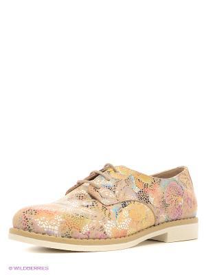 Ботинки Benta. Цвет: бледно-розовый