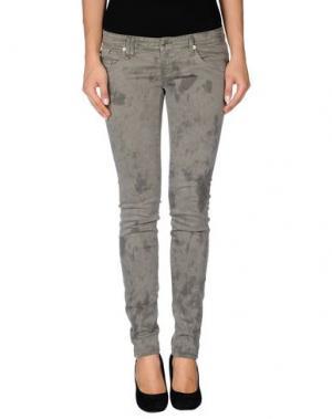 Джинсовые брюки BAD SPIRIT. Цвет: серый