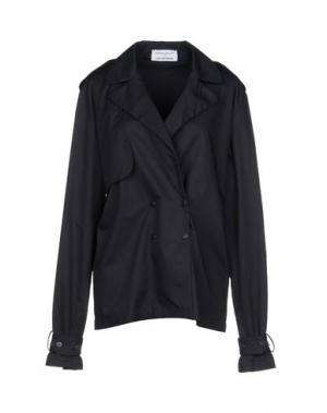 Легкое пальто WANDA NYLON. Цвет: темно-синий