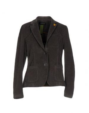 Пиджак IANUX. Цвет: темно-коричневый