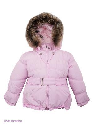 Куртка Hippo Hoppo. Цвет: розовый