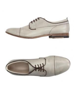 Обувь на шнурках SARTORI GOLD. Цвет: серый