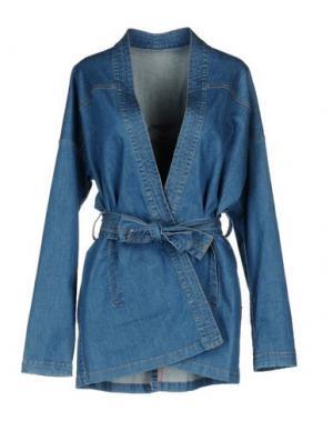Джинсовая верхняя одежда MALPH. Цвет: синий