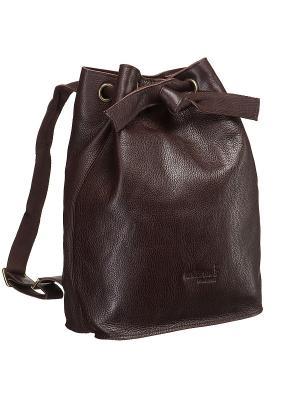 Рюкзак Dr. Koffer. Цвет: коричневый