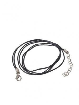 Шнурки для украшений NeKi. Цвет: черный