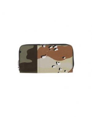 Бумажник MM6 MAISON MARGIELA. Цвет: зеленый-милитари