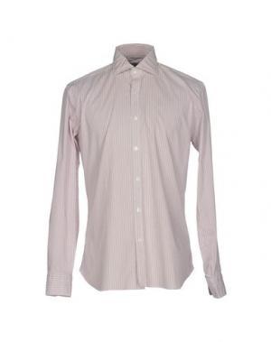 Pубашка DANDYLIFE BY BARBA. Цвет: пастельно-розовый