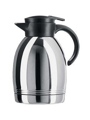 Термос EMSA KONSUL кофейник 1.3л черный 628131600. Цвет: серый, черный