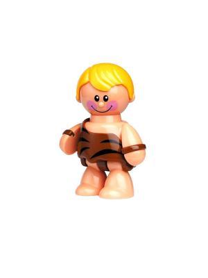 Фигурка Пещерный человек Tolo. Цвет: коричневый
