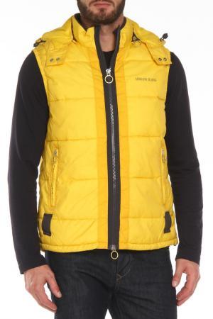 Жилет ( 2-й слой) Armani Jeans. Цвет: желтый