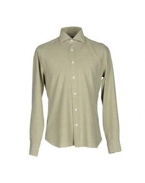 Pубашка DANDYLIFE BY BARBA. Цвет: светло-зеленый