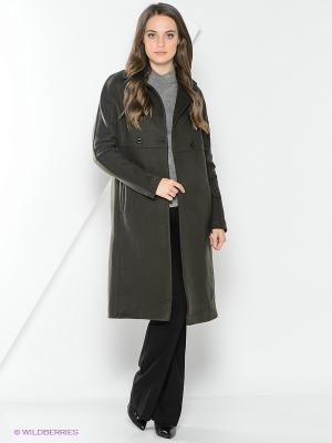 Пальто adL. Цвет: хаки