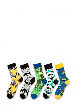 Комплект носков 5 пар Sammy Icon. Цвет: разноцветный