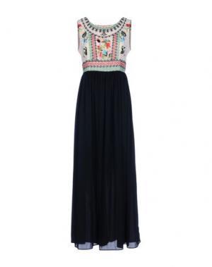 Длинное платье EYEDOLL. Цвет: бежевый
