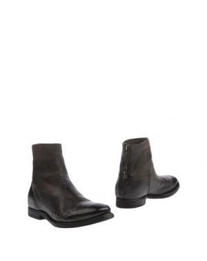 Полусапоги и высокие ботинки SARTORI GOLD. Цвет: стальной серый