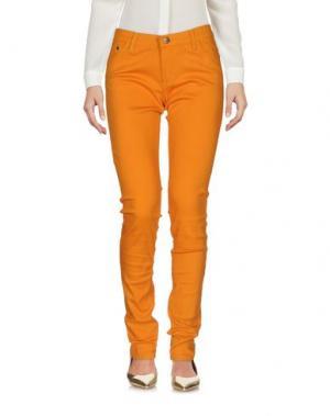Брюки-капри COMPAÑIA FANTASTICA. Цвет: оранжевый