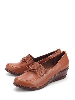 Туфли Pera Donna. Цвет: коричневый