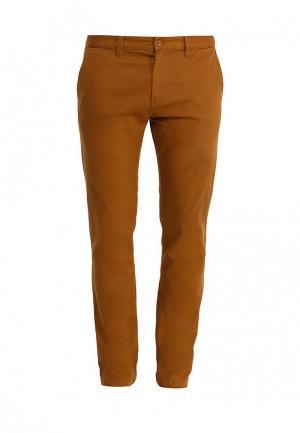 Брюки DC Shoes. Цвет: коричневый